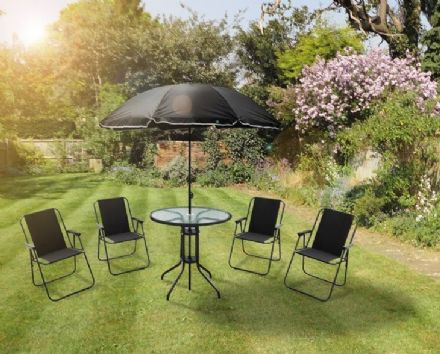 6 Piece Monaco Garden Furniture Set